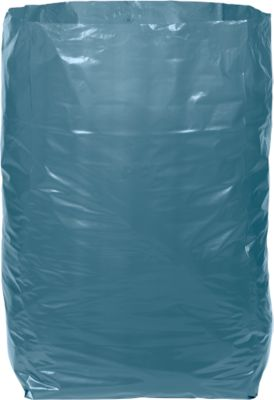 Afvalzakken Deiss Premium, 240 liter, lekvrij, gerecycleerd LDPE, 100 stuks, blauw
