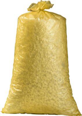Afvalzakken van HDPE, 23 mµ, 70 liter, geel, 250 stuks