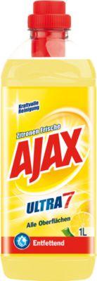 Ajax All Purpose Cleaner Ultra 7, citroen versheid, 1 liter inhoud