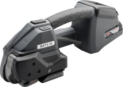 Akku-Umreifungsgerät BXT3, Kunststoff-Bänder, Band 12 - 16 mm, schlagfestes Display