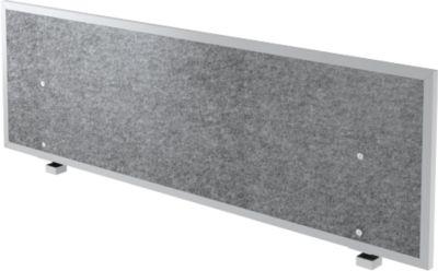Akoestische scheidingswand, voor bureautafel B 1600 mm, geluidsisolatieklasse C, H 500 mm
