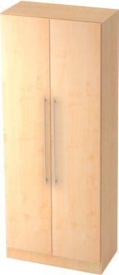 Aktenschrank 5 OH, B 800 x T 420 x H 2004 mm, Ahorn-Dekor