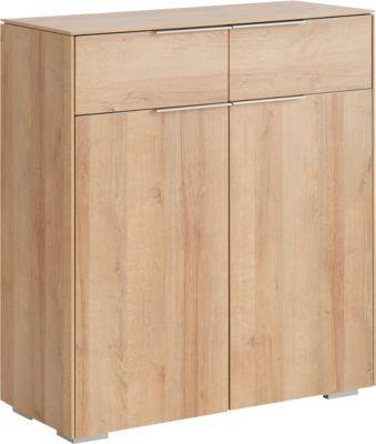 Aktenschrank Amy, 2 Schubladen + 2 Ordnerhöhen, mit Türen, B 808 x H 923 mm