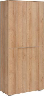 Aktenschrank Amy, 5 Ordnerhöhen, mit Türen, B 808 x H 1816 mm