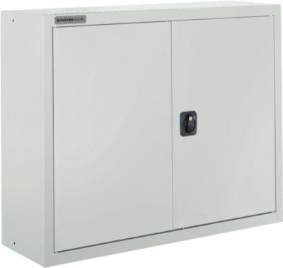 Aktenschrank SSI Schäfer MSI 8408, B 800 x T 400 x H 800 mm, 3 Böden, Stahl, lichtgrau RAL 7035