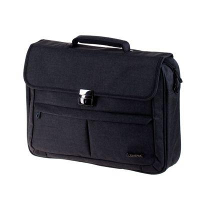 Aktentasche, abschließbar, m. Laptopfach, verstellb. Schultergurt, B430xT100xH340 mm