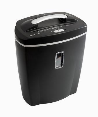 Aktenvernichter Genie 580 XCD, mit Papierkorb, geeignet für DIN A4, schwarz
