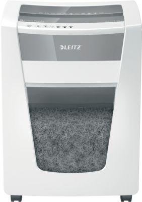 Aktenvernichter Leitz IQ Office Pro, Partikelschnitt 4 x 40 mm, P4, 30 l, 20-22 Bl., Antipapierstau