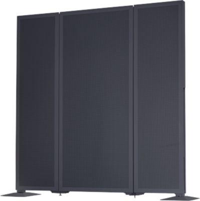 Akustik-Stellwand Akustika, B 400 x H 1500mm, graphit