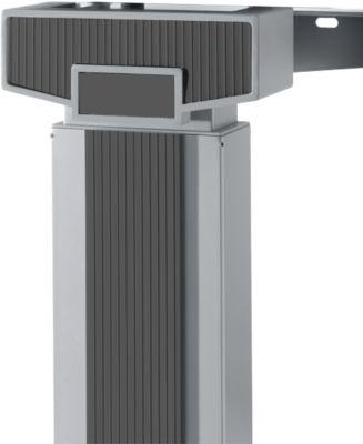 Akzentleisten 45° + 90 °, manuelle Verstellung, graphit, 9 Stück