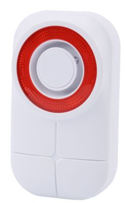 Alarmsirene Olympia für Protect/Pro Home-Systeme, kompakt, drahtlos, extra laut