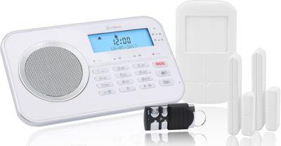 Alarmsysteem Olympia 9868, draadloos, met geïntegreerde GSM-telefoonkiezer, met geïntegreerde GSM-telefoonkiezer