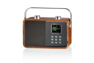 ALBRECHT Digital-/UKW-Radio DR 850, Bluetooth, Farbdisplay, 7 Watt Lautsprecher