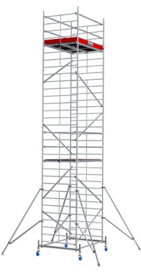 Alu-Fahrgerüst Breitaufbau, Arbeitshöhe ca. 9300 mm