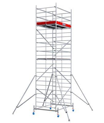 Alu-Fahrgerüst Breitaufbau, Standhöhe ca. 5300 mm