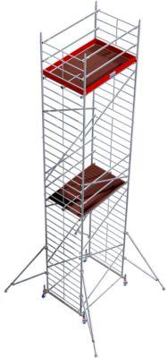 Alu-Fahrgerüst Breitaufbau, Standhöhe ca. 8300 mm