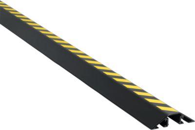 Alu-Kabelbrücke, L 2000 mm, schwarz/gelb