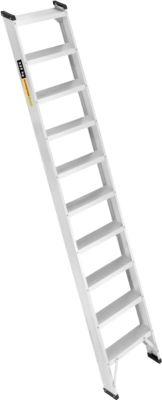 Alu-Profi-Anlegeleiter, 10 Stufen
