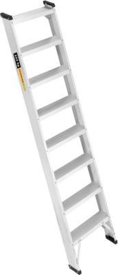 Alu-Profi-Anlegeleiter, 8 Stufen