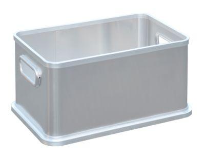 Aluminium box zonder deksel, 80 liter