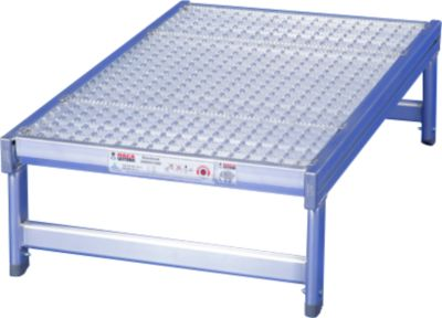 Aluminium standaard, 300 x 650 x 1000 mm, 300 x 650 x 1000 mm