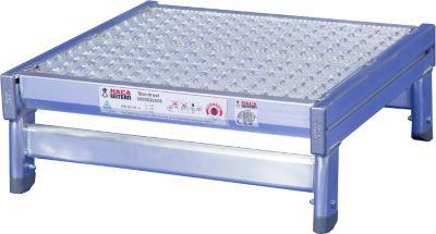 Aluminium statiefrooster, 200 x 550 x 500 mm, 200 x 550 x 500 mm