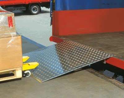 Aluminium-Überfahrbrücke, 750 x 1250 mm, Tragkraft 600 kg