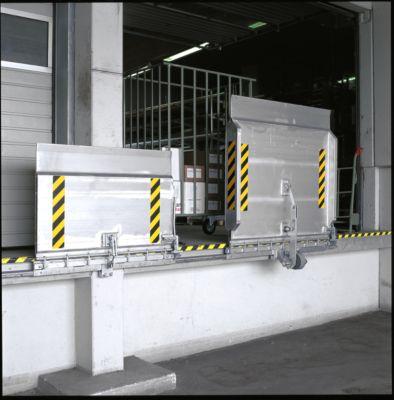 Aluminium-Überfahrbrücke Typ SKB, Typ 1, 48 kg