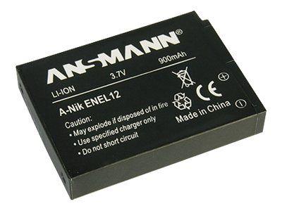 ANSMANN A-Nik EN EL 12 - Kamerabatterie Li-Ion