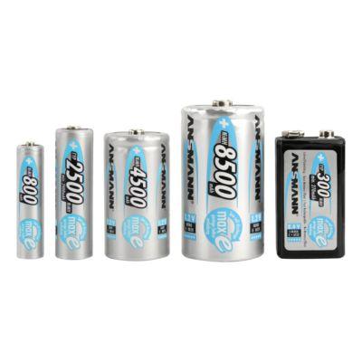 ANSMANN® oplaadbare batterijen maxE, Mono D, 8500 mAh, pak van 2 stuks