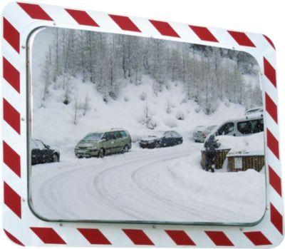 Antifrost-/Antibeschlag-Verkehrsspiegel Vialux, rechteckig
