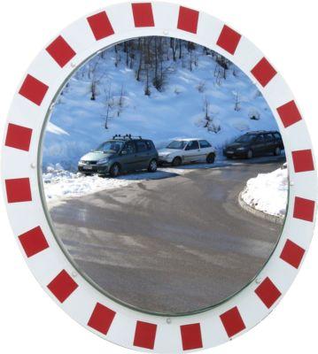 Antifrost-/Antibeschlag-Verkehrsspiegel Vialux, rund