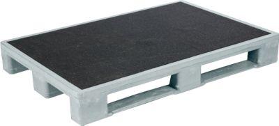 Antislip-pallet voor zware vrachten, 1200 x 800 mm, 5 stuks