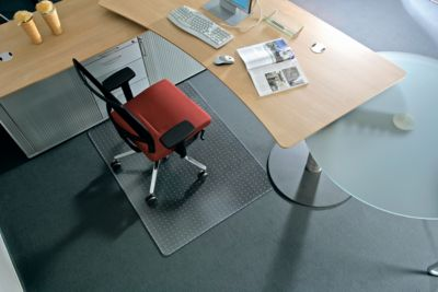 Antistatische mat voor harde vloer, 900x1200 mm