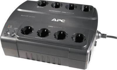 APC USV System Back UPS ES 550G, BE550G-GR