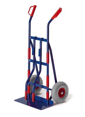 Apparaat-steekwagen met draagbeugels, luchtbanden, draagvermogen: 400 kg