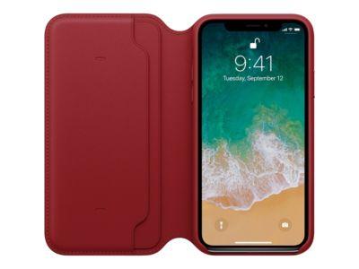 Apple (PRODUCT) RED - Flip-Hülle für Mobiltelefon