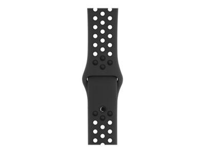 Apple Watch Nike+ Series 3 (GPS) - Weltraum grau Aluminium - intelligente Uhr mit Nike Sportband - anthrazit/schwarz - 8 GB