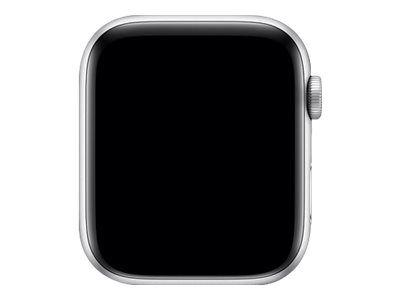 Apple Watch Series 4 (GPS) - Aluminium, Silber - intelligente Uhr mit Sportschleife - Muschelschale - 16 GB