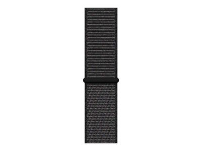 Apple Watch Series 4 (GPS + Cellular) - Weltraum grau Aluminium - intelligente Uhr mit Sportschleife - schwarz - 16 GB - nicht angegeben