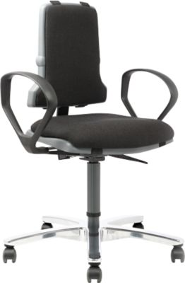Arbeitsdrehstuhl Sintec 160, Textil-Polster