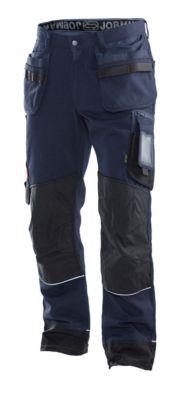 Arbeitshose mit Hängetaschen marine/schwarz D116