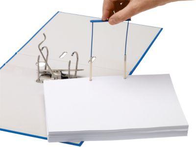 Archiv-Abheftbügel Bankers Box ProClip, mit Aufreihstiften, 50 Stück, blau