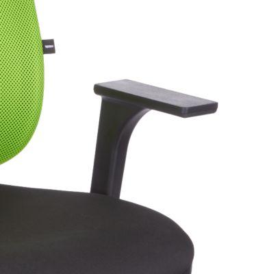 Armlehnen-Paar für Drehstuhl Pro Net 100, höhenverstellbar