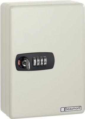 Armoire à clés Keybox, 20 crochets, gris clair