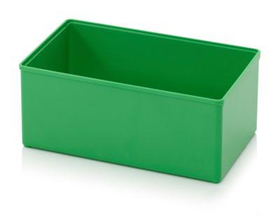 Assortimentsdoos Inzetbak, voor rastermaat 2 x 3, rechthoekig, groen