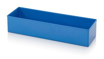 Assortimentsdoos Inzetbak, voor rastermaat 2 x 6, rechthoekig, blauw