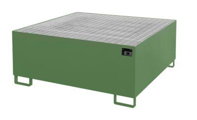 Auffangwanne AW 1000-1, grün RAL 6011