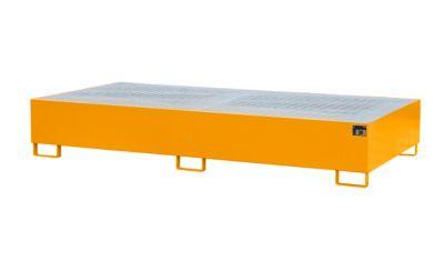 Auffangwanne AW 1000-2, orange RAL 2000