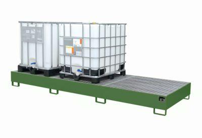 Auffangwanne AW 1000-3, grün RAL 6011